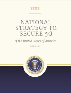National-Strategy-5G of the United State of America